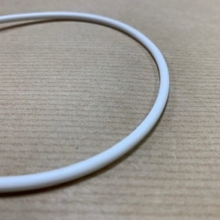WHITE SILICONE O-RING FDA 60 SHº (±5) Øi 380 mm X 3 mm