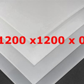 M² TRANSLUCENT SILICONE SHEET FOOD SAFE 40 SH° (±5) WIDTH 1200 mm X 0,3 mm (±0,2)
