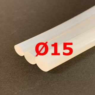 M. TRANSLUCENT SILICONE CORD FOOD GRADE 60 SH° (±5) Ø 15 mm