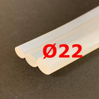 M. TRANSLUCENT SILICONE CORD FOOD GRADE 60 SH° (±5) Ø 22 mm