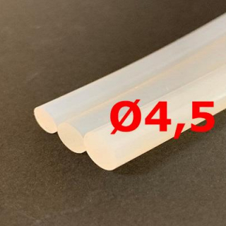 M. TRANSLUCENT SILICONE CORD FOOD GRADE 60 SH° (±5) Ø 4,5 mm