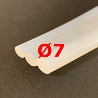 M. TRANSLUCENT SILICONE CORD FOOD GRADE 60 SH° (±5) Ø 7 mm