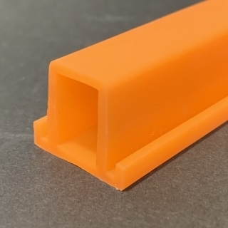 M. ORANGE SILICONE PROFILE FOOD SAFE 40 SH°(±5) HIL. H2662A