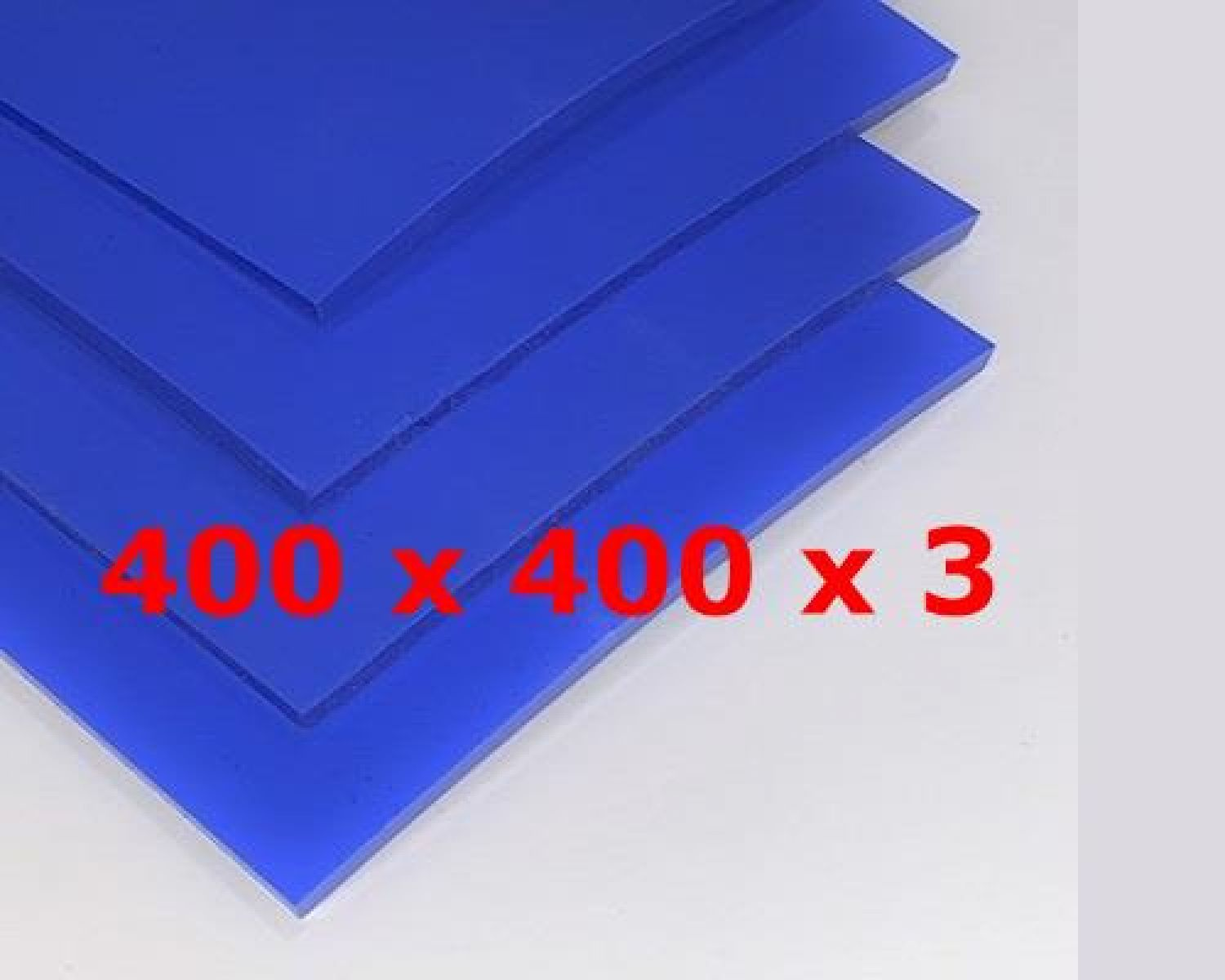 BLUE SILICONE SHEET FOOD SAFE 60 SH° (±5) 400 mm X 400 mm X 3mm (±0,3) Thickness  NO TALC