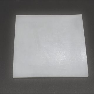 TRANSLUCENT SILICONE SHEET FOOD SAFE 60 SH° (±5) 100 mm X 100 mm X 1mm (±0,2) Thickness