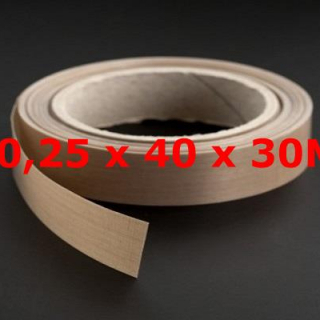 ROLLO TVT NORMAL 0,25mm X 40mm X 30 METROS
