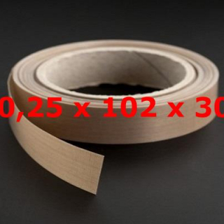 TVT ROLL 0,25mm X 102mm X 30 METERS