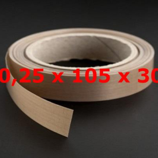 TVT ROLL 0,25mm X 105mm X 30 METERS
