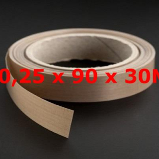 ROLLO TVT NORMAL 0,25mm X 90mm X 30 METROS