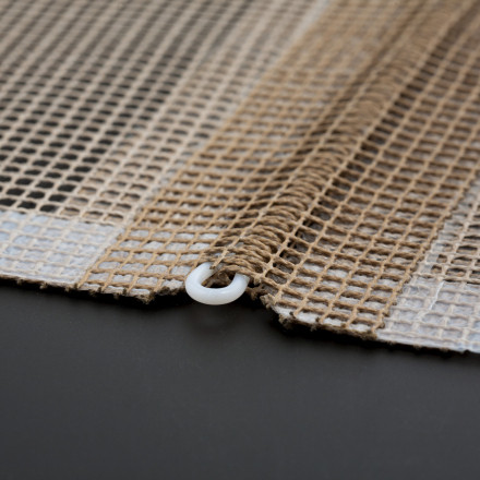 Glass Fabric Bands and Mesh Impregnated with PTFE