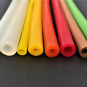 M. BLACK SILICONE TUBE THT (300°C)  FOOD GRADE 60 SH°(±5) Øo 9 mm X Øi 6 mm